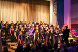 "Die PiccaDilly´s beim Benefizkonzert ""Voices for Hospices"" Oktober 2017 im Stadtsaal in Dillingen"